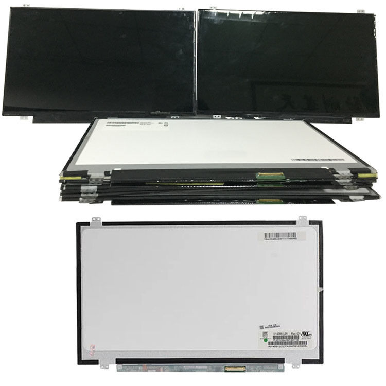 Slim 14 Inch LCD Screen / Laptop LCD Panel NV140FHM N46 EDP 30 Pin 1920x1080